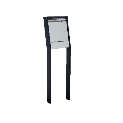 GREET グリートII ブラック W365×H1237(1537)×D233mm 322611410