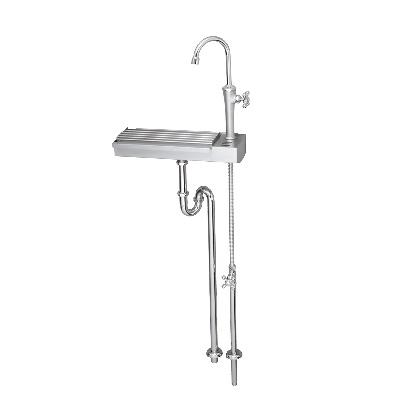Garden Sink KIT ガーデンシンクKIT S1 ステンレスヘアライン W390×H1082(1209)×D170mm 603802110