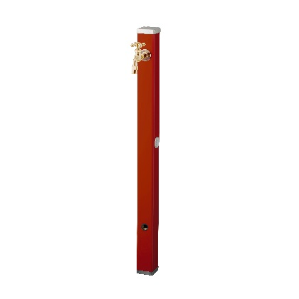 Spre スプレスタンド70 蛇口1個セット(ゴールド) ダークレッド W74×H700(1000)×D74mm 600501210