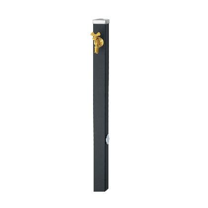 Spre スプレスタンド60 左右仕様 蛇口1個セット(ゴールド) マットブラック W64×H800(1100)×D64mm 600531310