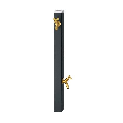 Spre スプレスタンド60 左右仕様 蛇口2個セット(ゴールド) マットブラック W64×H800(1100)×D64mm 600532310