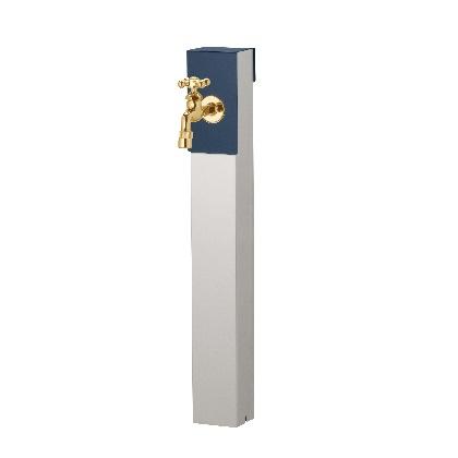 Lina リーナアロン 650スタンド シングル蛇口1個セット(ゴールド) ミッドナイトブルー W94×H650(955)×D81mm 600611210