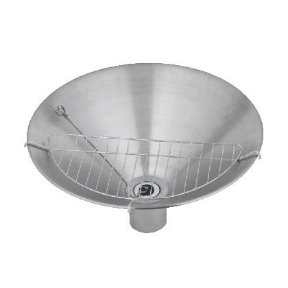 WATER POT フィーノポット φ450 ステンレスシルバー 450×H150(230)mm 602922110