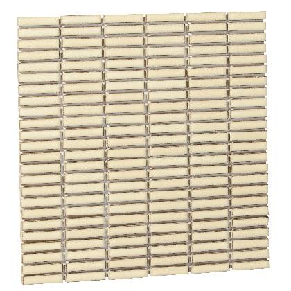 Famiage mosaic ファミアージュモザイク スマートアイボリー07 L300×H300×t6mm 181901110 25枚