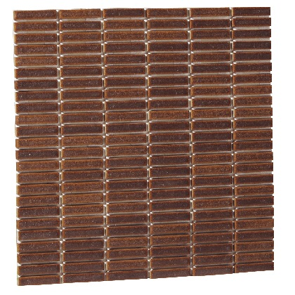 Famiage mosaic ファミアージュモザイク スマートブラウン09 L300×H300×t6mm 181901210 25枚