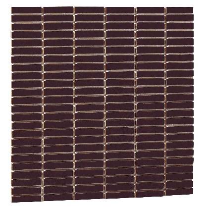 Famiage mosaic ファミアージュモザイク スマートダークグレー02 L300×H300×t6mm 181901310 25枚