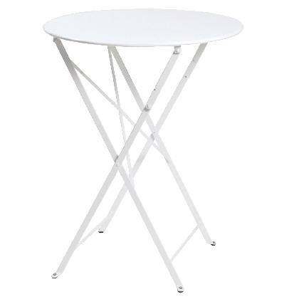 Bistro ビストロテーブル600 ホワイト Φ600×H736mm 650211110