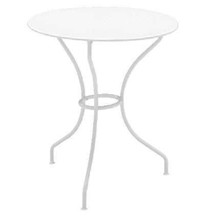 Fermob オペラテーブル670 ホワイト Φ670×H718mm 650031110