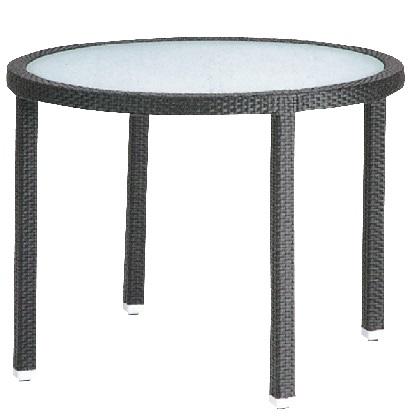 ユニソン MAテーブル1000 ブラック Φ1060×H750mm 650505110