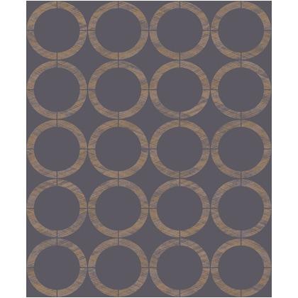 CASADECO ZAZIE4 輸入壁紙 巾53cm長さ10mリピート12.8cm EDN80606837