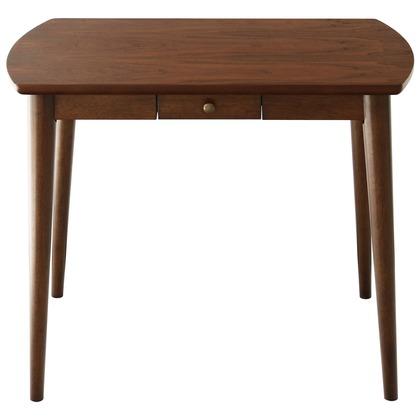 Rosie ロージー ダイニングテーブル ブラウン 幅900×奥行600×高さ700mm 82-634 テーブル ダイニング