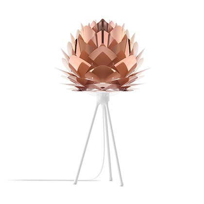 VITA Silvia mini copper (Tripod Table/ホワイト) 02031-TT-WH