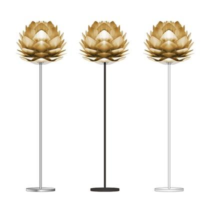 VITA SILVIA Brushed Brass (フロア/シルバー) 02070-FL-SV