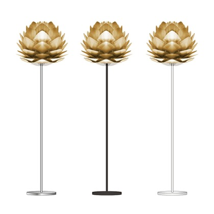 VITA SILVIA Brushed Brass (フロア/ホワイト) 02070-FL-WH