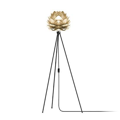 VITA SILVIA mini Brushed Brass (Tripod Floor/ブラック) 02071-TF-BK