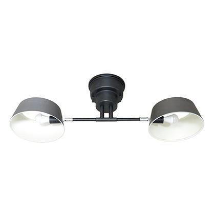 LuCerca Capiente2 カピエンテ2 2灯シーリングライト ヴィンテージシルバー LC10909-VS
