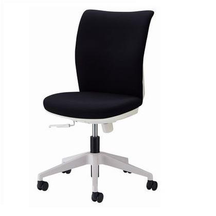 クレスタ オフィスチェアー ブラック 奥600mm×幅595mm×高860~965mm No.3620F オフィスチェアー 事務用チェアー 事務用椅子 イス 42336