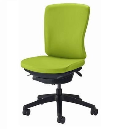 バーサル オフィスチェアー サンドベージュ 奥555~605mm×幅640mm×高902~992mm No.3515F-K オフィスチェアー 事務用チェアー 事務用椅子 イス 75229