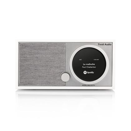 Tivoli Audio Model One Digital White/Grey White/Grey W222×H115×D140 mm MOD-1748-JP