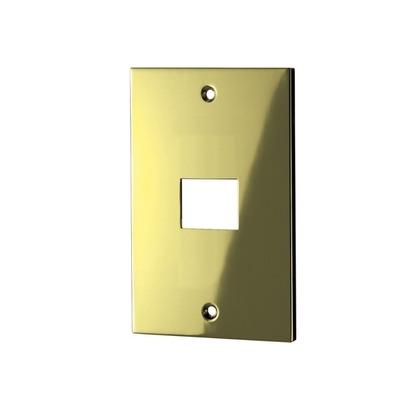ウエスト/WEST スイッチプレート 鏡面ゴールド 32S-N0000-GB 電源 電気 装飾