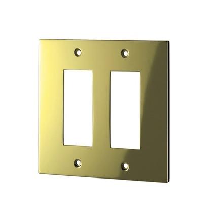 ウエスト/WEST スイッチプレート 鏡面ゴールド 38S-N0000-GB 電源 電気 装飾