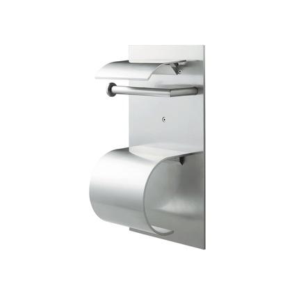 ウエスト/WEST トイレットペーパーホルダー アルミシルバー 14M-N0002-SA トイレ 紙巻き