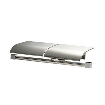 ウエスト/WEST トイレットペーパーホルダー シルバーヘアライン 53M-N0002-SHC トイレ 紙巻き