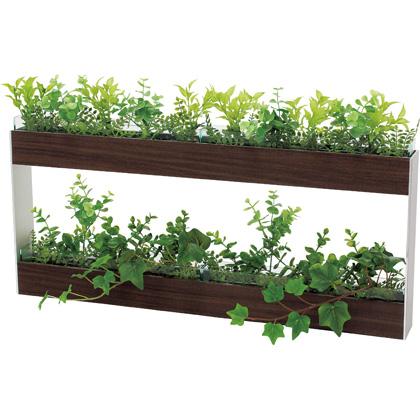 ベルク 卓上ポット カップ付 GR4077 植物 緑 インテリア