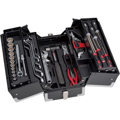 超美品の ONLINE SHOP TONE/トネ ツールセット(ソリッドブラック) TSS4318SBK:DIY FACTORY-DIY・工具