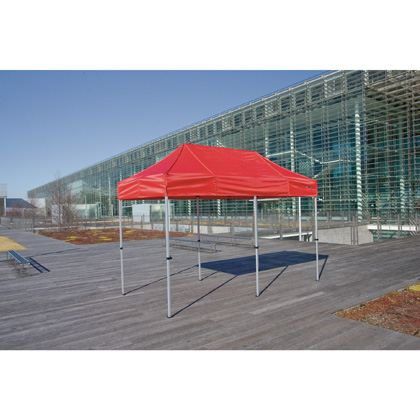 かんたんてんと3(オールアルミフレーム) 赤 1.8m×3.6m KA/2WA テント ワンタッチ イベント