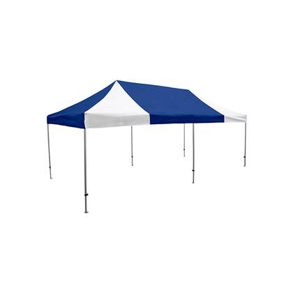 かんたんてんと3(スチール&アルミ複合フレーム) 水色(オプション色) 3.6m×7.2m KA/11W テント ワンタッチ イベント