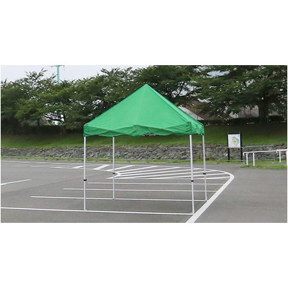 かんたんてんと3メッシュタイプ(オールアルミフレーム) ピンク 2.4m×2.4m KA/3WAM テント ワンタッチ イベント