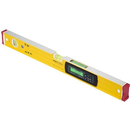 マグネット付防塵・防滴デジタル水平器60IP DL-60MIP 水平器