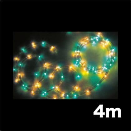 DENSAN LEDソフトネオン(75mmピッチ) PR-E375-04GY