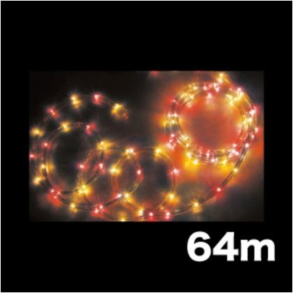 DENSAN LEDソフトネオン(75mmピッチ) PR-E375-64RY