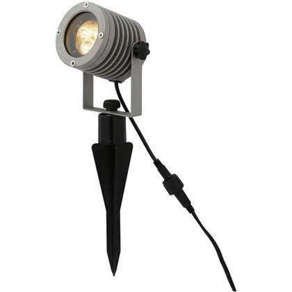 LED GARDEN ホームEX アップライト ソーラー 3球(電球色) 幅109×奥行109×高さ320mm LGS-EX03S