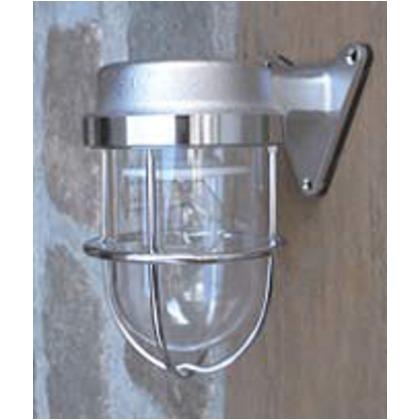 セキスイデザインワークス ゼロフランジライト シルバー Φ130×H165(mm) IAA28A マリンランプ 屋外照明 船舶ライト