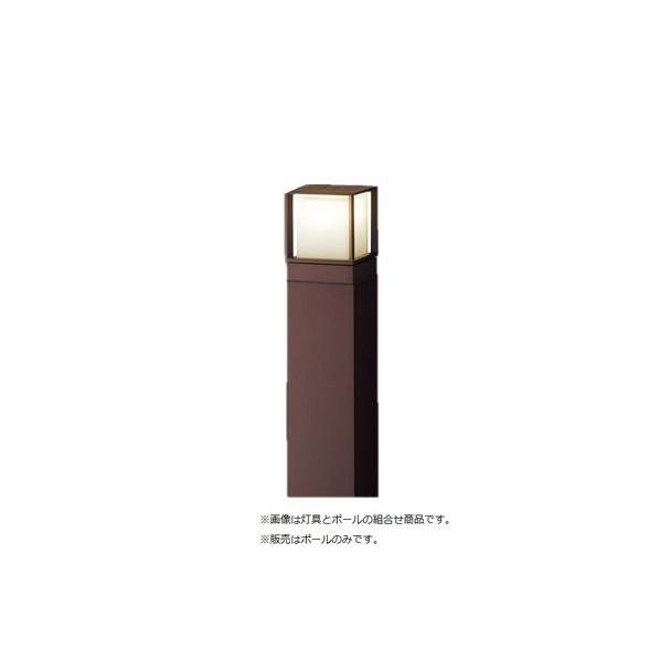 パナソニック エントランスライト 用ポール 長さ (cm):129.6.幅(cm):13.9.高さ(cm):13.9 HK25085A