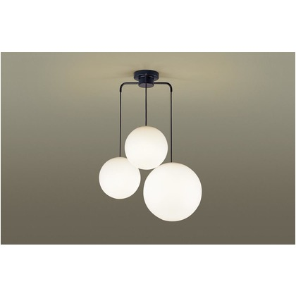 パナソニック LED シャンデリア 直付吊下型 60形 ×4 電球色 長さ (cm):63.7.幅(cm):36.9.高さ(cm):59.2 LGB19411BK