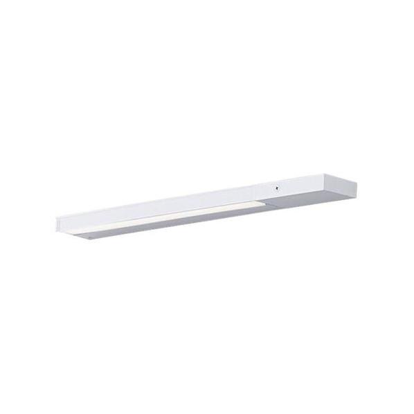 パナソニック LED スリムラインライト 壁直付型 電源投入 温白色 長さ (cm):46.4.幅(cm):6.9.高さ(cm):5.1 LGB50804LE1