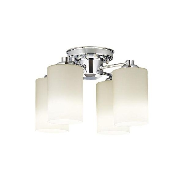パナソニック LED シャンデリア 天井直付型 50形 ×4 電球色 長さ (cm):53.5.幅(cm):45.高さ(cm):22 LGB57400K