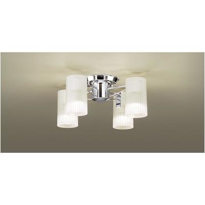 パナソニック LED シャンデリア 天井直付型 40形 ×4 電球色 長さ (cm):45.5.幅(cm):45.5.高さ(cm):24 LGB57450K