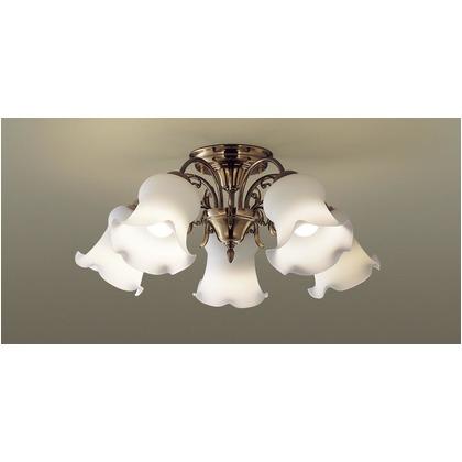 パナソニック LED シャンデリア 天井直付型 50形 ×5 電球色 長さ (cm):63.5.幅(cm):61.9.高さ(cm):35.2 LGB57514K