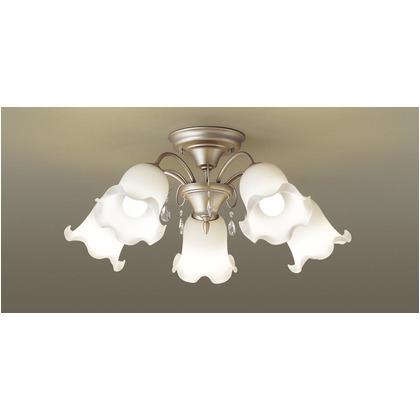パナソニック LED シャンデリア 天井直付型 60形 ×5 電球色 長さ (cm):64.5.幅(cm):62.1.高さ(cm):27.4 LGB57542K
