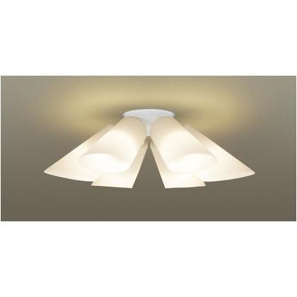 パナソニック LED シャンデリア 天井直付型 50形 ×6 電球色 長さ (cm):62.幅(cm):35.5.高さ(cm):30.5 LGB57611K
