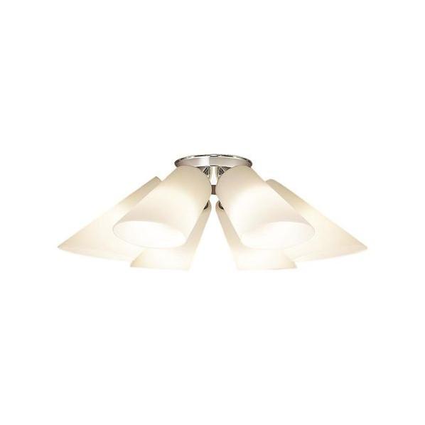 パナソニック LED シャンデリア 天井直付型 50形 ×6 電球色 長さ (cm):62.幅(cm):35.5.高さ(cm):30.5 LGB57612K