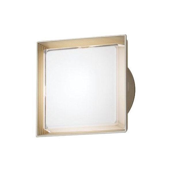 パナソニック LED ポーチライト 天井直付型 40形 昼白色 長さ (cm):24.7.幅(cm):24.7.高さ(cm):13.5 LGW80320LE1