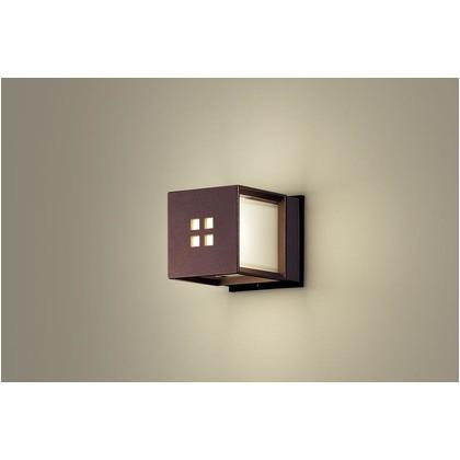 パナソニック LEDポーチライト40形電球色 長さ (cm):16.5.幅(cm):13.高さ(cm):13 LGW85040AK