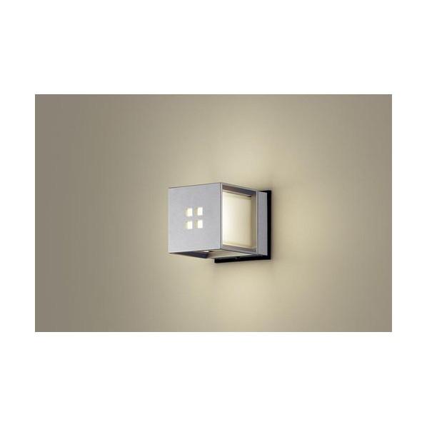パナソニック LEDポーチライト40形電球色 長さ (cm):16.5.幅(cm):13.高さ(cm):13 LGW85040SF