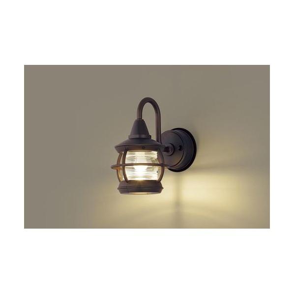 パナソニック LEDポーチライト40形電球色 長さ (cm):15.3.幅(cm):25.2.高さ(cm):25.9 LGW85216K
